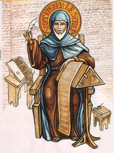 St Éphrem († 373)