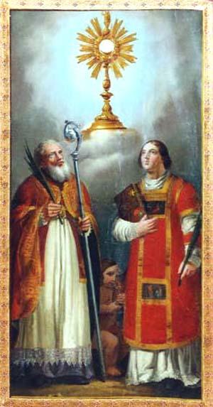 Santos Fortunato y Hermágoras