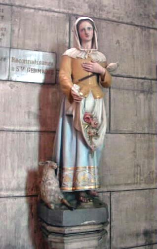 Ste Germaine Cousin († 1601)