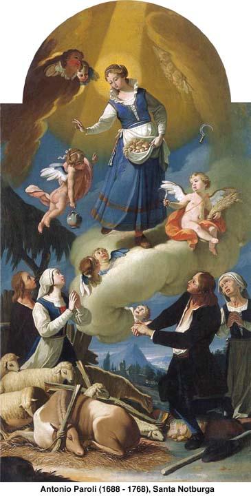 Santa Notburga de Eben